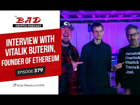 Interview With Vitalik Buterin, Founder Of Ethereum