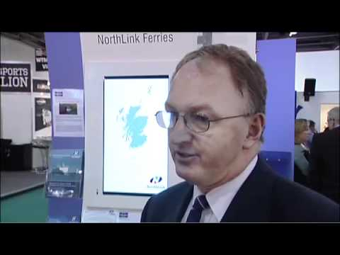 Peter Hutchinson, Senior Manager, Vessel Support Services, Northlink Ferries, Scotland @ WTM 2010