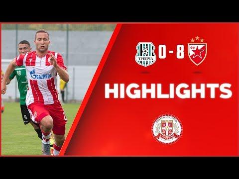 Trepča - Crvena zvezda 0:8, highlights