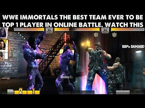 WWE IMMORTALS Best team to play Must Watch this(GAMEPLAY)Become Top 1 player