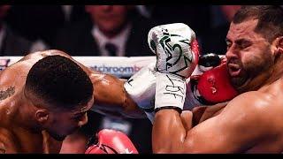 Anthony Joshua Vs Eric Molina (Full Fight HD)