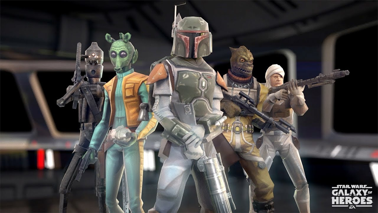 Star Wars Galaxy Of Heroes Bossk Is Coming Soon