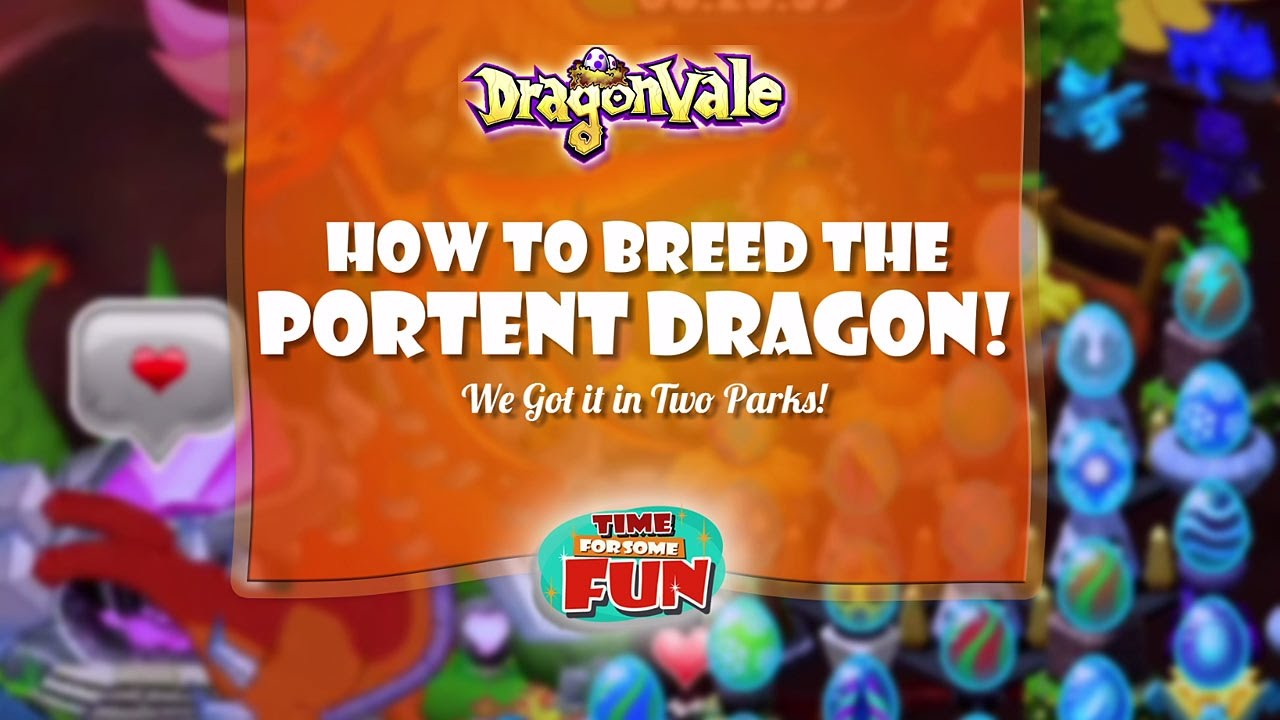 Dragonvale how to breed the portent dragon youtube for Portent dragon dragonvale