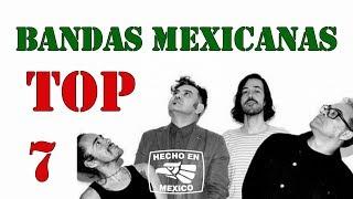 TOP 7 BANDAS DE ROCK MEXICANO
