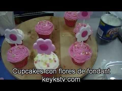 Como usar el fondant liquido (poured fondant): cupcakes, cake balls y ...