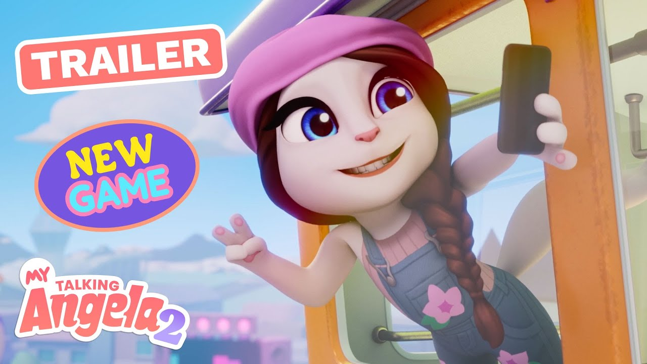 ✨ My Talking Angela 2 ✨Start Your Brand New BFF Adventure (Official Launch Trailer)