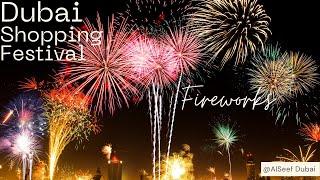 DUBAI SHOPPING FESTIVAL FIREWORKS (DSF) at Creek Dubai 2018