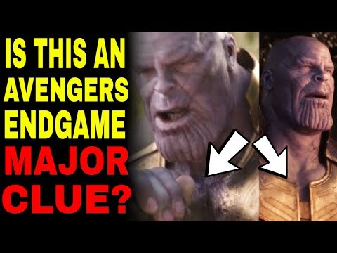 The Avengers Endgame Hint You Probably Missed
