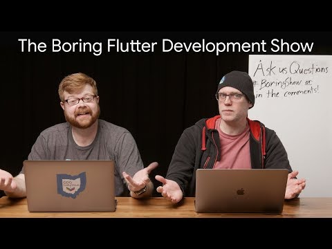 Shared Preferences, Switch Class & Modal Bottom Sheets (The Boring Flutter Development Show, Ep. 16)