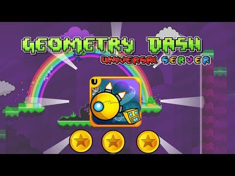 All Levels | Geometry Dash Universal Server (All Coins) | Crist246