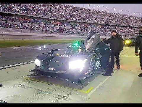 Prueba nocturna a bordo con Agustín Canapino en Daytona (14-12-2018) Carburando.com