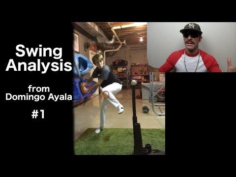 Swing Analysis from Domingo Ayala #1