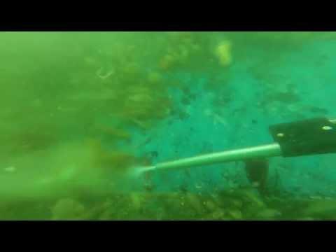Cleaning of Sub Sea Structure using Cavi-Gun
