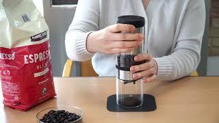 마리슈타이거 커피그라인더 기름많은원두 수동학습법