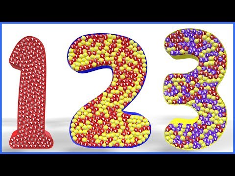 123 Numbers for Kids | 1234 Number Names | Learn Counting from 1 To 10 | 12345 Numbers Song