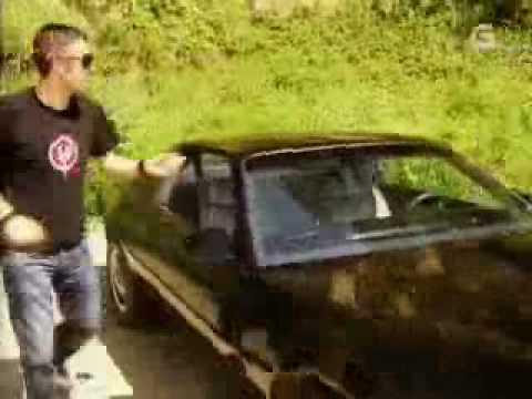 Kitt, o coche fantástico galego e o Michael Knight de Vilarmaior.