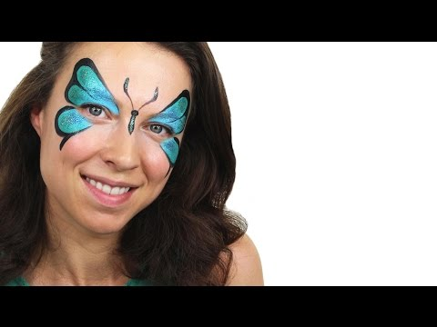 Beginners Butterfly Face Paint Tutorial