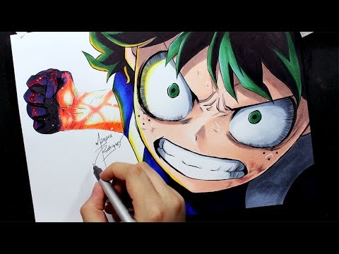 Speed Drawing - Midoriya [BOKU NO HERO ACADEMIA]