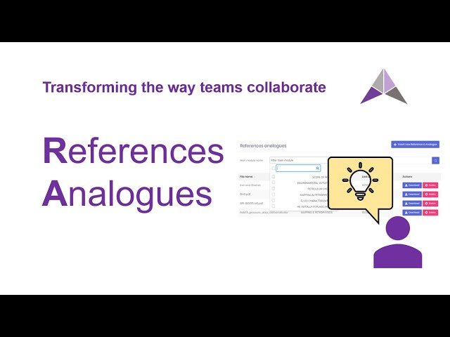 References & Analogues Tutorial