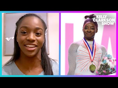 Young Gymnast Nails Simone Biles' Record-Breaking Signature Move