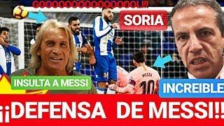 ¡¡EL BARÇA y CRISTOBAL SORIA DEFENSA INCREIBLE A MESSI! ¡¡ÚLTIMA HORA!! FC BARCELONA NOTICIAS