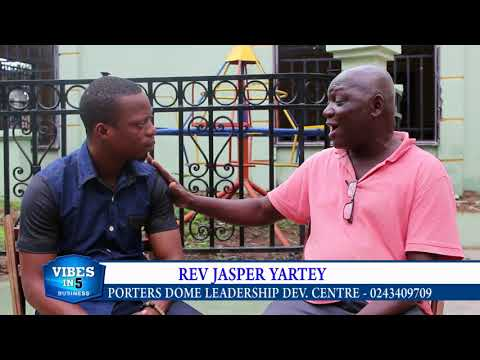 JASPER YARTEY to transform Africa into Europe in 10 years