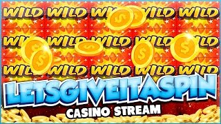 LIVE CASINO GAMES - !giveaway up + extra Friday stream :D