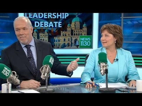 NDP John Horgan Goes On The Attack Against Christy Clark (BC Premier)