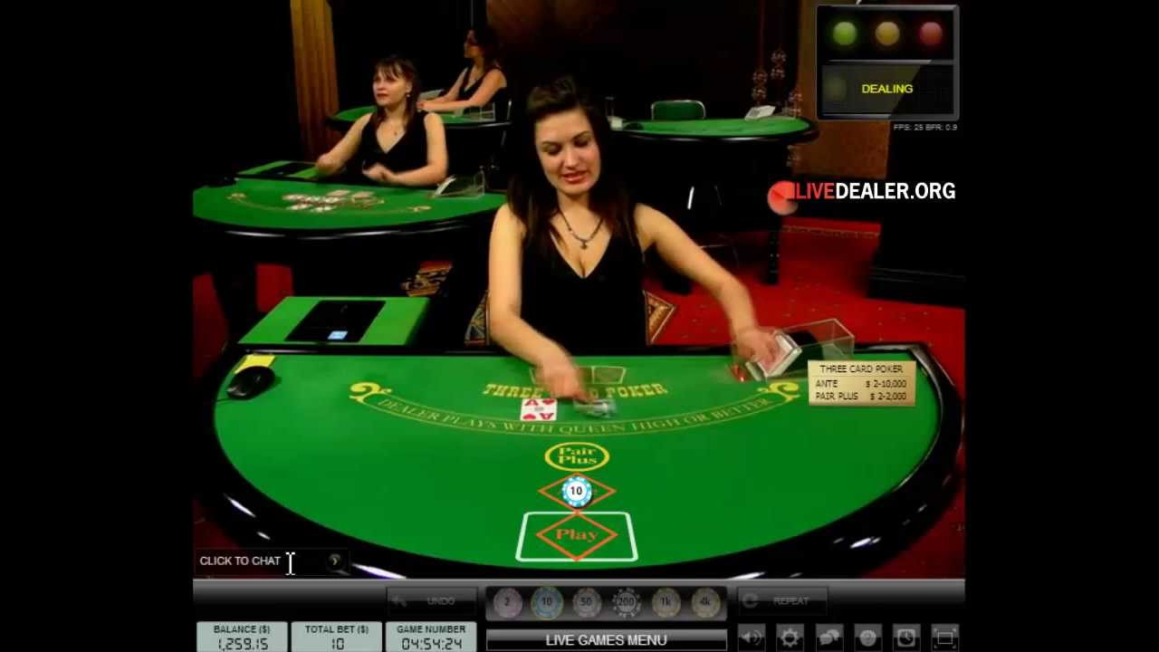 Live 3 Card Poker Youtube