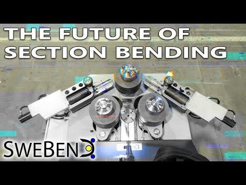 Advanced Section Bending Machine  SweBend SB3 85S 2018