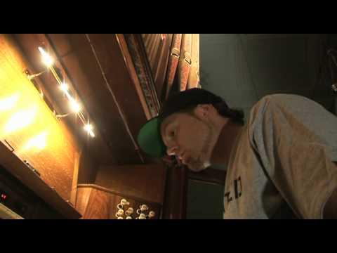 DJ Shadow Playing The Organ, Live @ Ulster Hall, Belfast, North Ireland, UK
