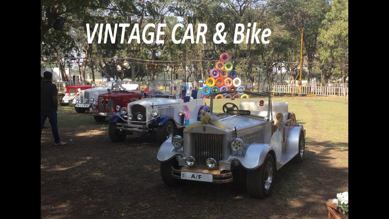 Flower show rajkot 2018 Vintage car and Vintage Bike Vintage wedding ...