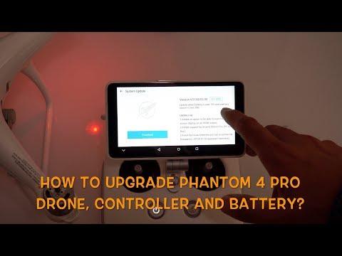 How To Upgrade Phantom 4 Pro Plus V2.0 Drone, Controller & Battery