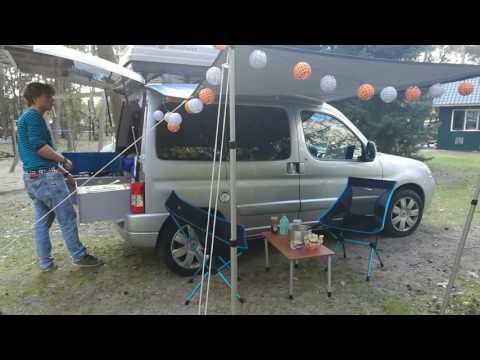Minicamper: trip to Hoge Veluwe
