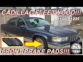 Cadillac Fleetwood Front Brake Pad Replacement & Installation 93 96 Roadmaster Chevy Impala Caprice
