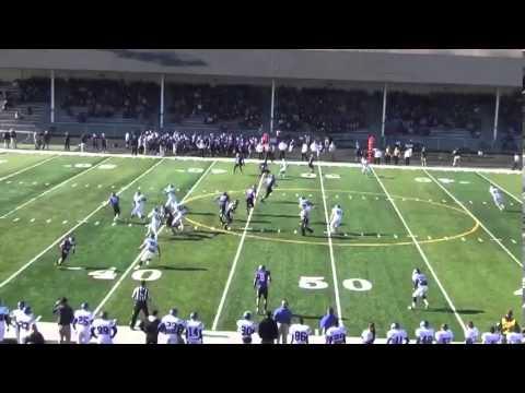 Matthew Mattox Mount Union 2012 senior highlights