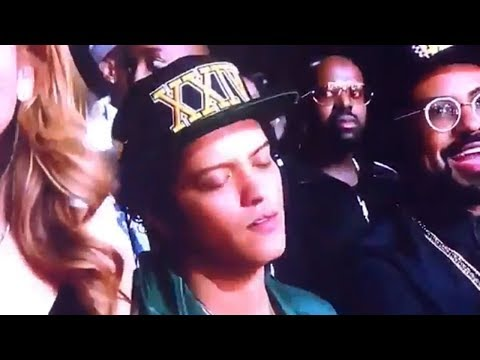 Bruno Mars Got Caught SLEEPING During Mary J. Blige BET Awards Performance!