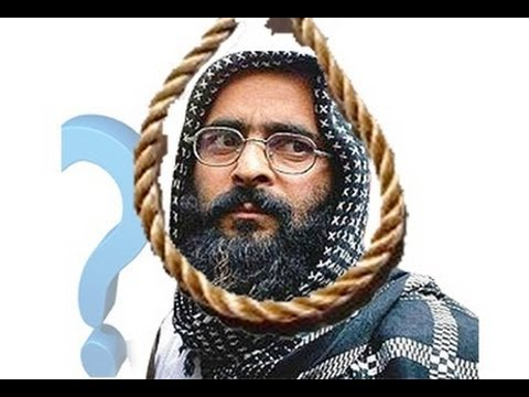 afzal guru hanged video