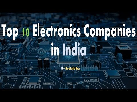 Top 10 Electronics Companies In India