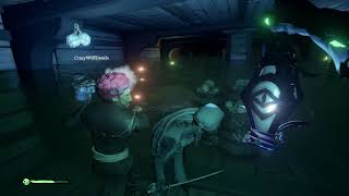 Sea of Thieves Cursed Sails onboard Skeleton Ships