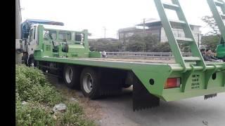 Bán xe tải Hyundai 3 Chân HD210 Chở máy công trình, HD210 keo fooc, Xe HD210 nâng đầu