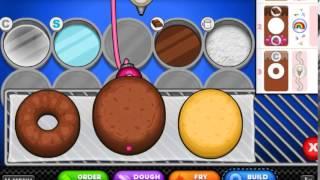 Пончиковая Папы - игра для девочек
