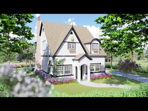 Storybook Cottage Home Plan