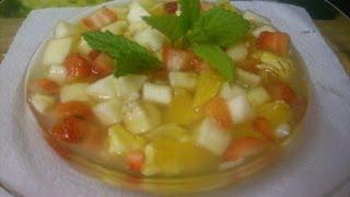 Comment faire une salade de fruits facilement et rapidement ?