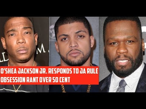 O'Shea Jackson Jr. Responds to Ja Rule's Twitter Rant Over 50 Cent OBSESSION