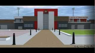 Fc United of Manchester Stadium Animation