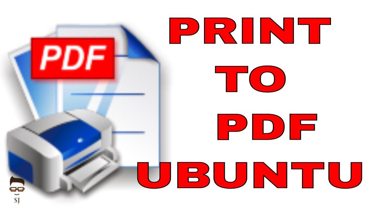 Pdf Creator Linux Ubuntu
