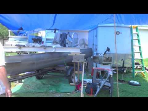 Transforming A Pontoon Boat Into A Fishing Machine