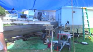 Transforming A Pontoon Boat Into A Fishing Machine