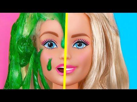 9 DIY Mini Schleim Anti-Stress Ball / Verrückte Tricks Für Deine Barbie